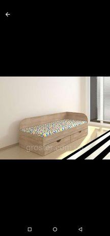 Ліжко дитяче односпальне Соня-2