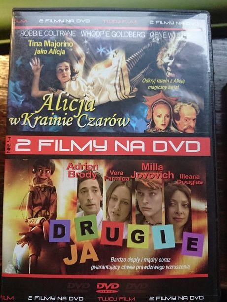 Alicja w krainie czarów // Drugie ja na dvd