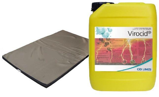 Płynny środek do dezynfekcji mat i budynków inwentarskich VIROCID 5l