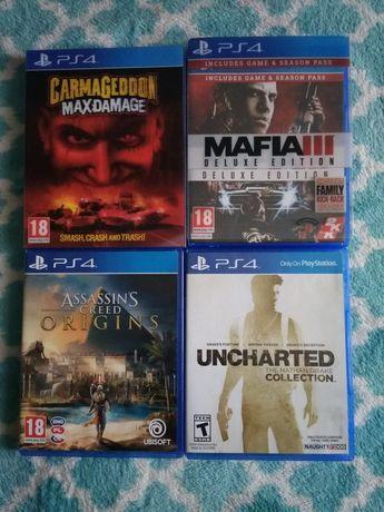 4 Gry na konsole PS4