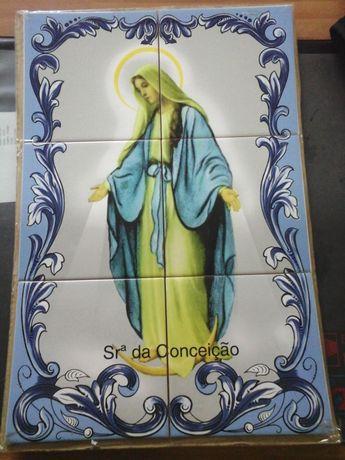 Painel Nossa Senhora da Imaculada Conceição 45X30CM Imagem ENTREGA JÁ
