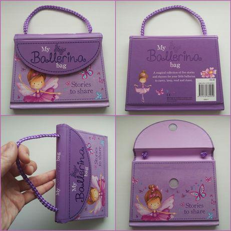 Необычная книжка-сумочка для маленькой балерины Ballerin На английском