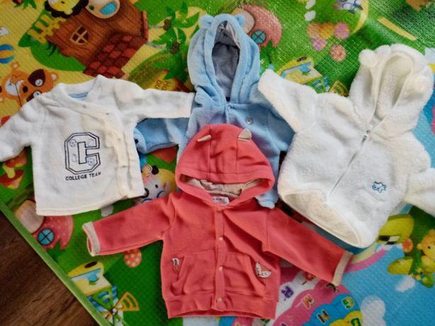 Bluzy, polary, polarki roz 68