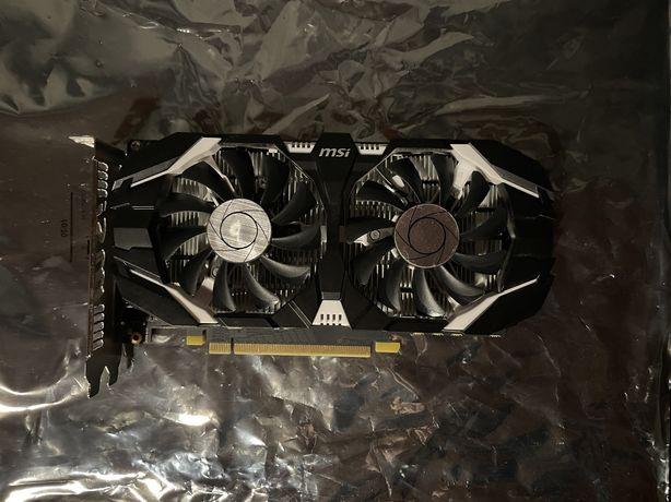 MSI Geforce GTX 1050ti OC