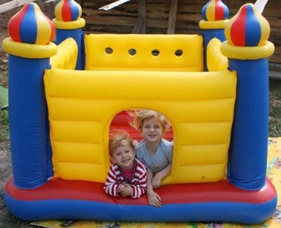 Батут детский надувной Игровой комплекс Intex Замок возраст 3-6 лет