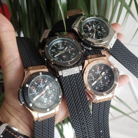 Porządny męski zegarek HUBLOT, 4 kolory ciężki solidny, chronometr
