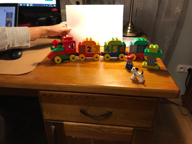 Lego duplo pociąg z cyferkami 10558 klocki