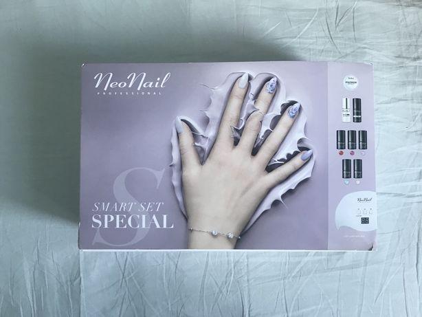 Набор для маникюра Neo Nail профессиональный, лампа, лаки, пилочки