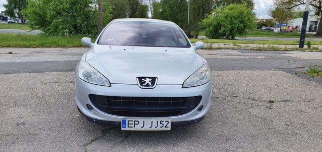 "peugeot 407 coupe-stan igła-204km-bixsenon-Jbl-navi-automat-skora-18"""