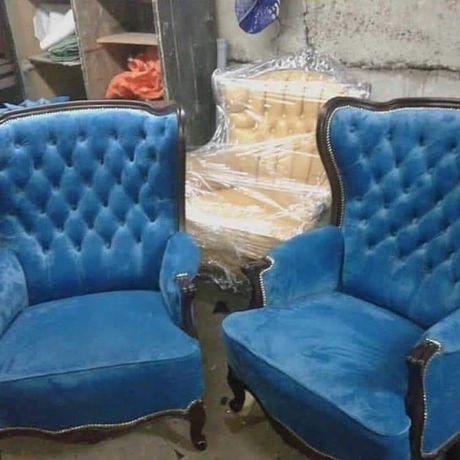 Перетяжка  та ремонт  м'яких  меблів