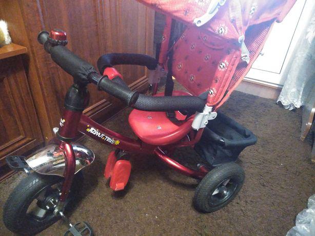 Детский трёхколёсный велосипед! Azimut treik.