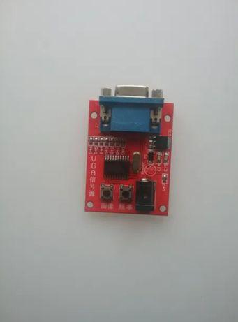 Генератор видеосигнала VGA тестер мониторов с блоком питания