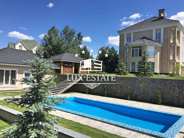 Lux-Estate предлагает элитный дом в поселке Лесники