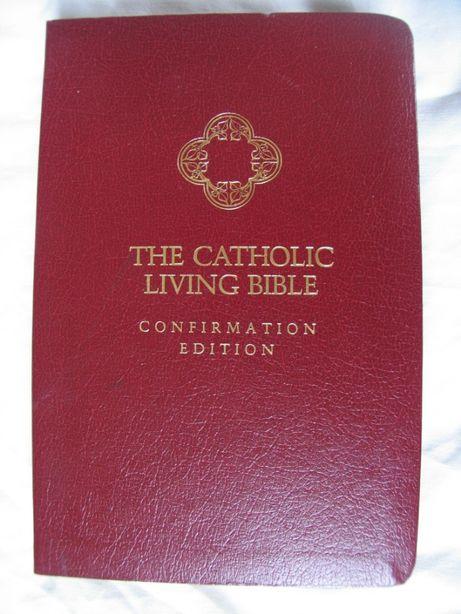 Biblię w języku angielskim-THE CATHOLIC LIVING BIBLE-confirmation edit