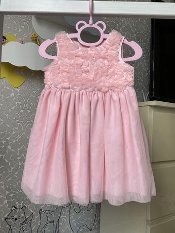 Нарядное Платье Carter's на 1-1,5 года
