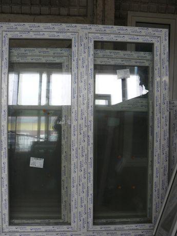 Okno domowe 146,5x143,5 białe R+RU