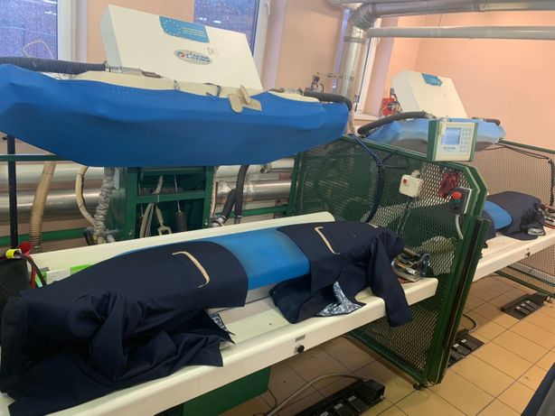 Maszyny do prasowania marynarek garniturów PRASY DO PRASOWANIA