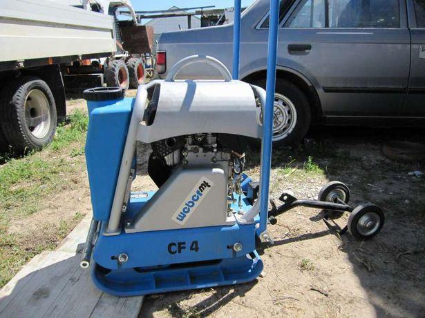 Placa compactadora nova, marca Weber mt CF4, gasoleo, 127Kg