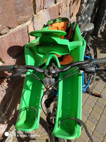 Крісло дитяче на велосипед
