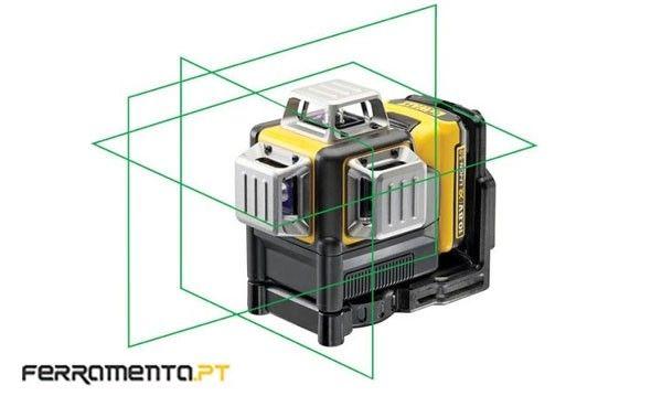 Nível Laser Autonivelantes Verde 3x 360º Dewalt DCE089D1G