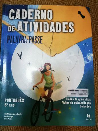 C.A. Palavra Passe 6°ano Português