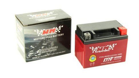 Akumulator motocykl skuter quad żelowy 12V YTX4L-BS firmy WM MOTOR