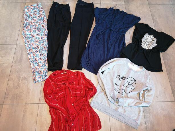 7 szt paka ubran damskich roz. 42 (XL) spodnie, sukienka, bluza...