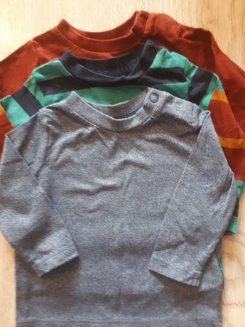 Bluzeczki chłopięce