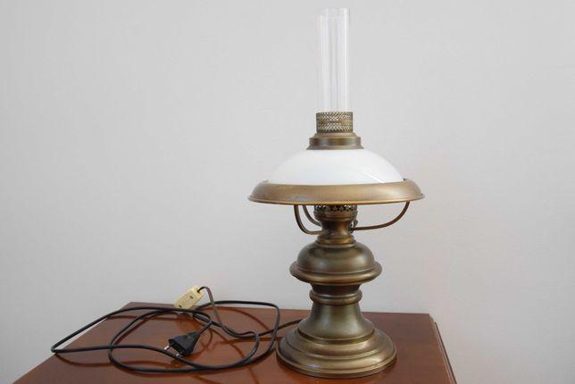 Lampa stojąca stolikowa antyk