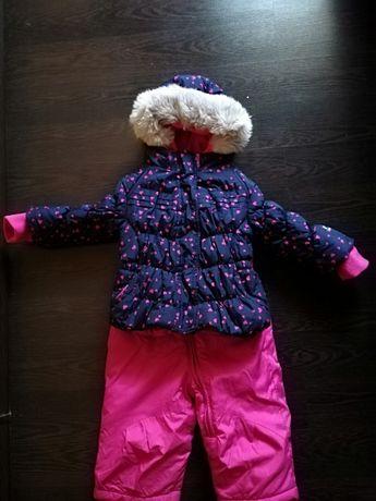 Зимний костюм для девочки, 12 месяцев