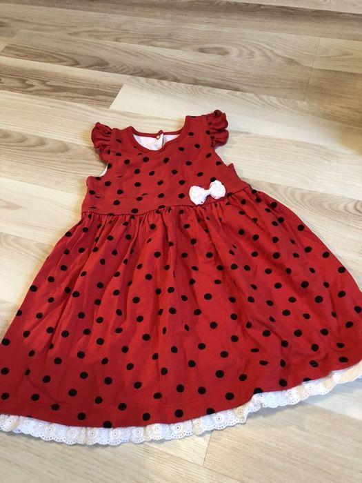 Śliczna sukieneczka dla dziewczynki 98-104 Piotrków Trybunalski - image 1