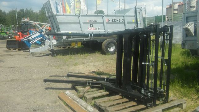Ładowacz czołowy TUR3 Udźwig 700kg. EURO-ramka do C330/C360/T25