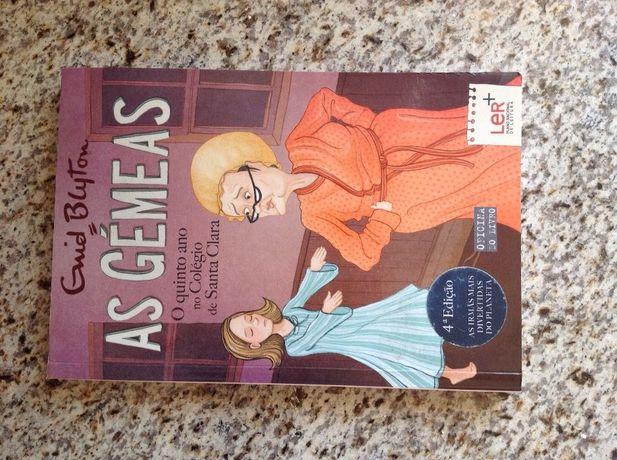 Livro novo da coleção As Gémeas, número 8.