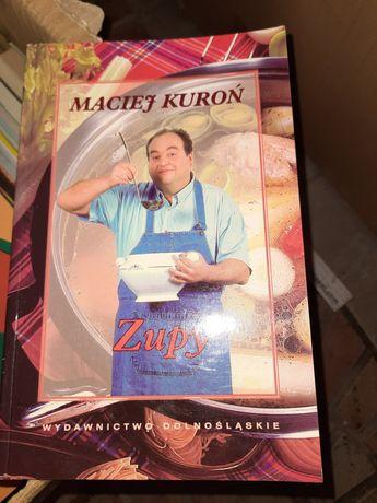Maciej Kuroń książki kucharskie