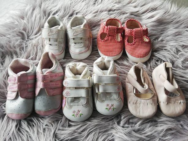 Niechodki dziewczynka 6-12 miesięcy