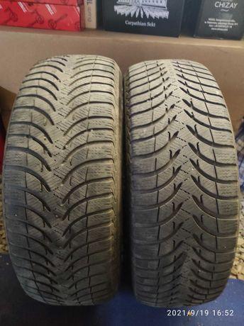Резина зимняя Michelin 205/60 r16.