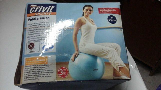 Vendo Bola de Ginástica com 65 cm Diâmetro .