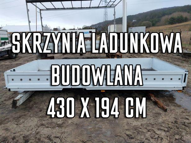 SKRZYNIA ŁADUNKOWA Sprinter crafter 430x194 cm paka zabudowa