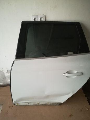 Drzwi Volvo XC 60 Białe Lewe Tył