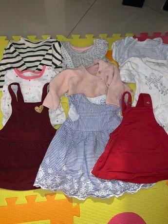 Ubranka dla dziewczynki 50-62r