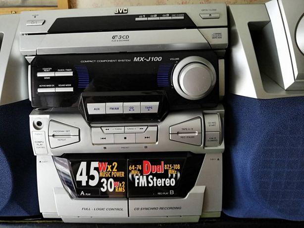 Музыкальный центр JVC MX-J100 отличное состояние !Срочно!