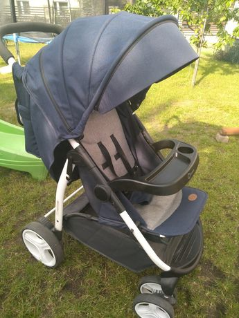 Wózek spacerówka Lionelo z pokrowcem i torbą