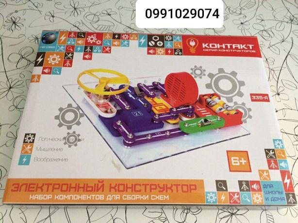 Электронный конструктор Контакт, 335 схем