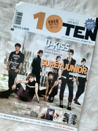 Koreański magazyn 10ten kpop kpopowy korea korean
