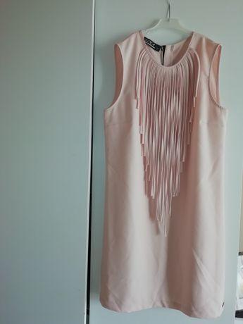 Sukienka elegancka roz 40
