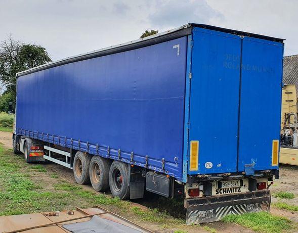 Naczepa ciężarowa Schmitz - firanka