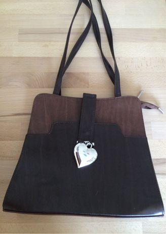 Włoska torebka Leaf Bags, skóra