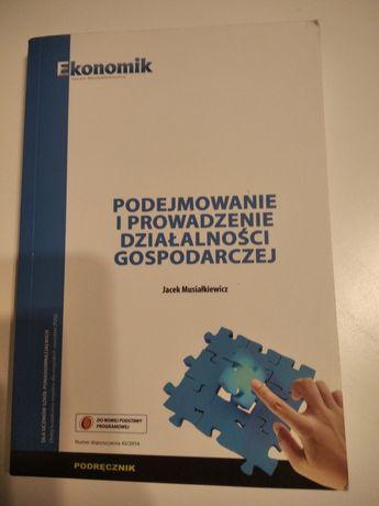 Podręcznik Podejmowanie i prowadzenie działalności gospodarczej