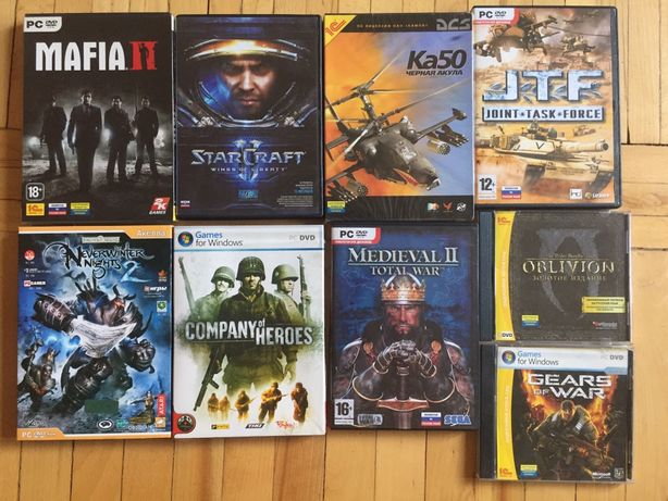 Диски игры для PC