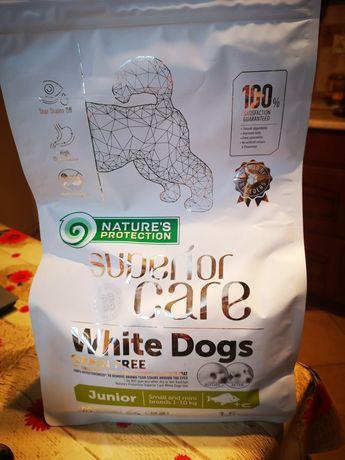 Karma dla białych psów Nature's Protection Junior 2.5kg